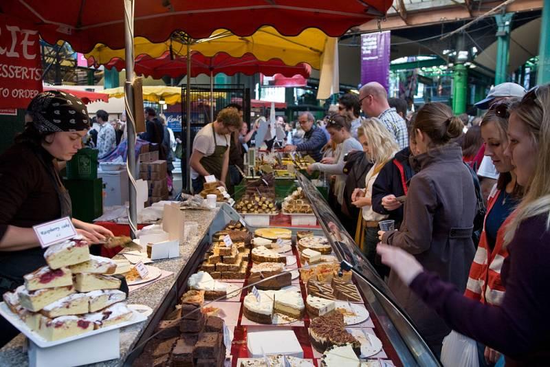 ตลาด Borough, ลอนดอน, อังกฤษ