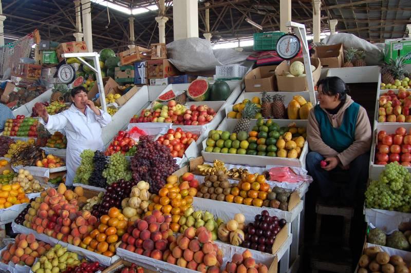 ตลาด Mercado Central , ซันติอาโก , ชิลี